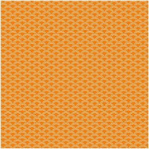 Papier samoprzylepny Washi - We R - 30 x 30 cm - Orange