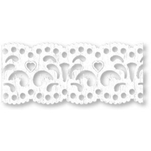 Koronka papierowa samoprzylepna - Heyda - 24 mm x 2 m - Filigrany 87