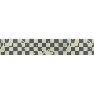 Taśma ozdobna, samoprzylepna - Stamperia - 1,5cm x 10m - Kratka