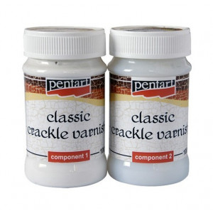 Two-component lacquer cracks classic Pentart 2x100 ml