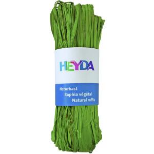 Rafia dekoracyjna 50 g - Heyda - j. zielona