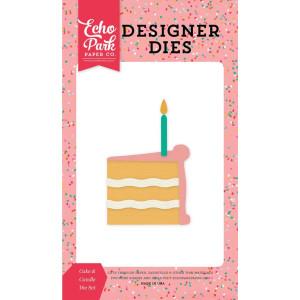 Zestaw wykrojników Echo Park - Party Time - Cake & Candle
