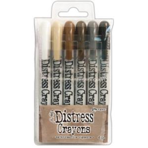 Tim Holtz Distress Crayons - Set 3