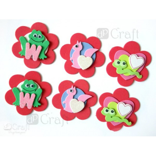 Wiggle Eyes 6 mm, 50 pcs