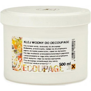 Klej wodny do decoupage 500 ml - Renesans
