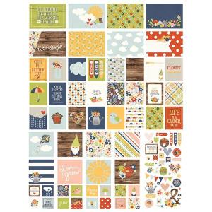 Zestaw kart i dodatków Simply Crafting - Bloom & Grow - 128 szt.