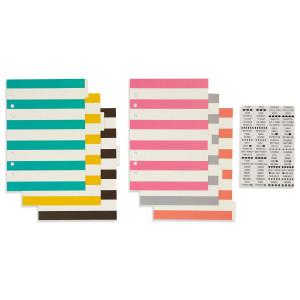 Przekładki A5 z naklejkami - Carpe diem - Simply Crafting