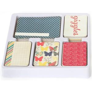 Zestaw kart Becky Higgins - Project Life - Core Kit - Azure