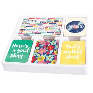Zestaw kart Becky Higgins - Project Life - Core Kit - Currently
