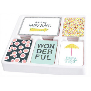Zestaw kart Becky Higgins - Project Life - Core Kit - Happy Place