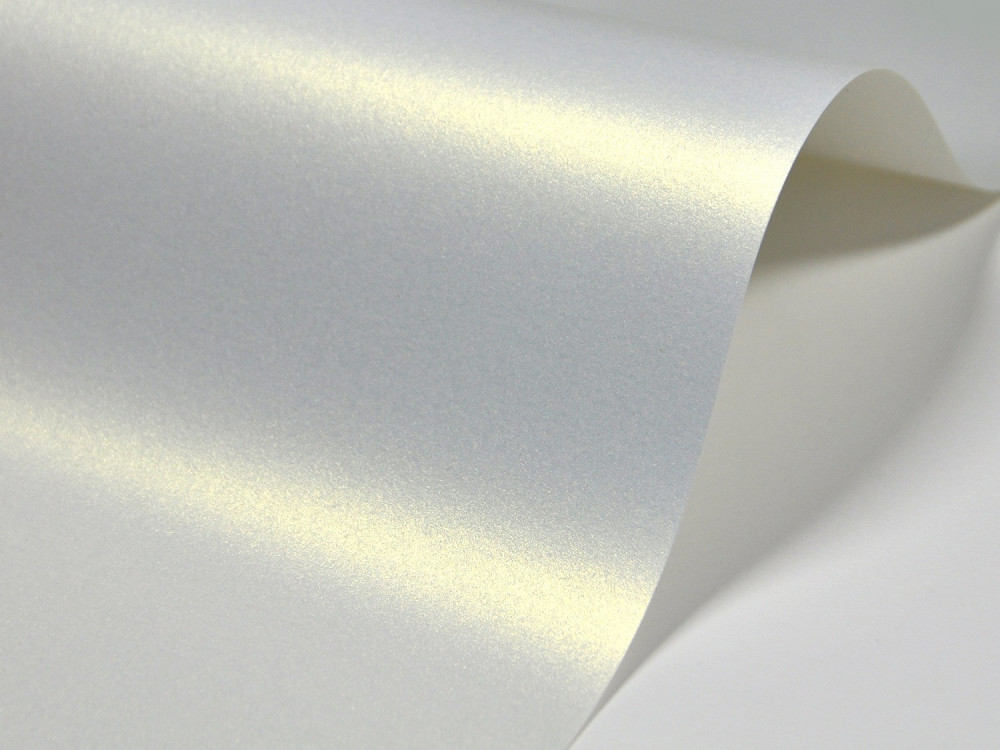 Papier Majestic 120g - Light Gold, kremowy, A4, 20 ark.