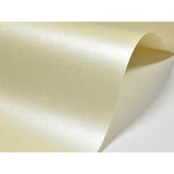 Papier Majestic 250g - Candlelight Cream, ecru, A4, 20 ark.