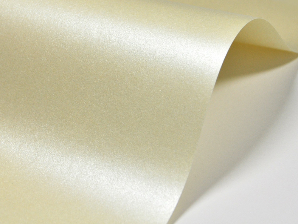 Majestic Paper 250g - Candlelight Cream, A4, 20 sheets