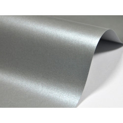 Majestic Paper 250g - Moonlight Silver, A4, 20 sheets