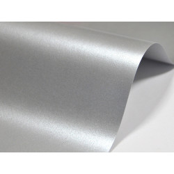 Papier Majestic 120g - Real Silver, srebrny, A4, 20 ark.