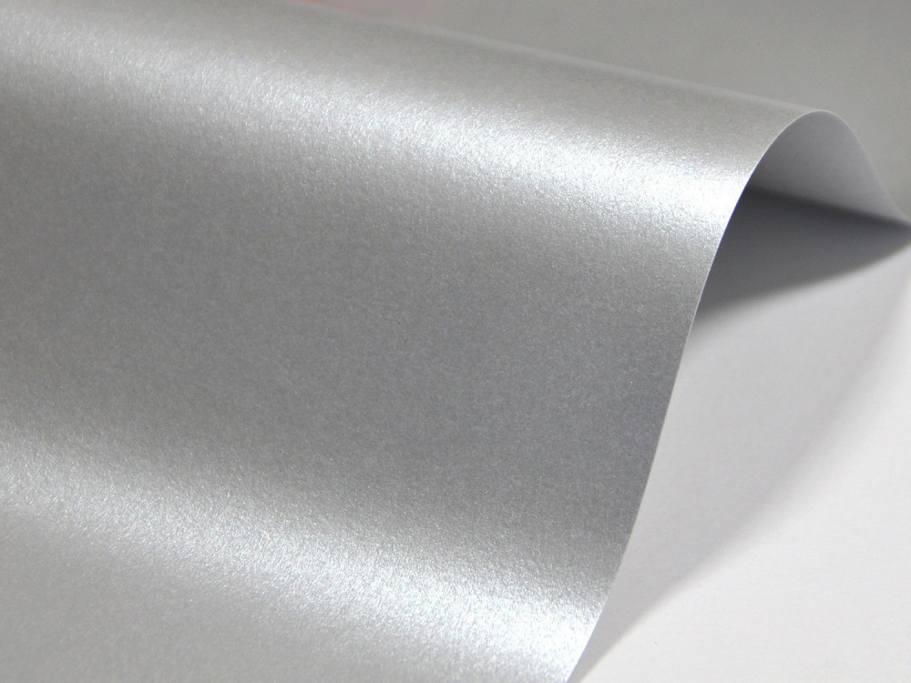 Majestic Paper 120g - Real Silver, A4, 20 sheets