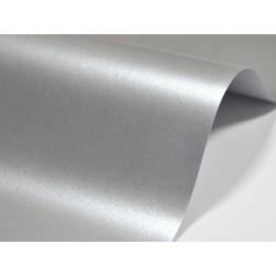 Papier Majestic 250g - Real Silver, srebrny, A4, 20 ark.