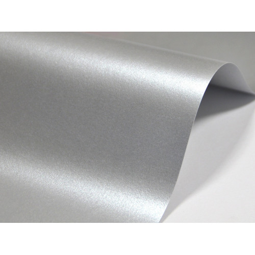 Papier Majestic 250g A4 Real Silver 20 ark.