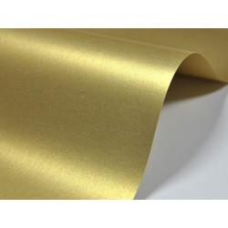 Papier Majestic 120g - Real Gold, złoty, A4, 20 ark.