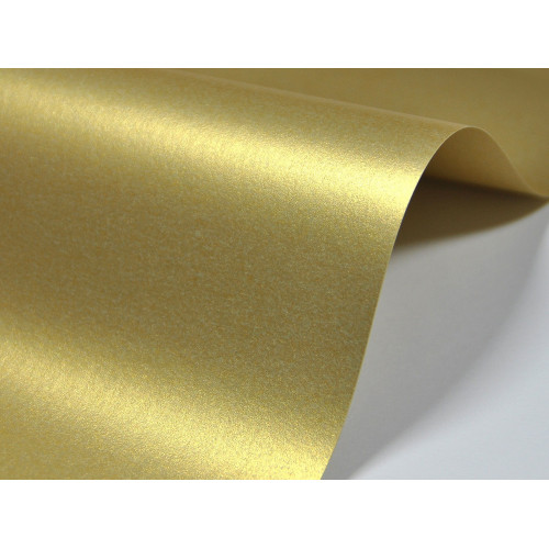 Papier Majestic 250g A4 Real Gold 20 ark.