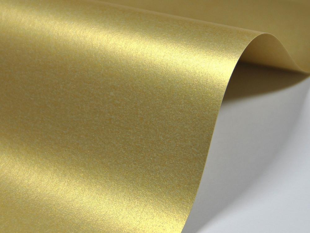 Papier Majestic 250g - Real Gold, złoty, A4, 20 ark.