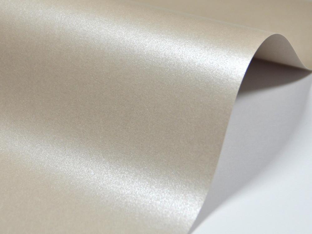 Papier Majestic 250g - Sand, piaskowy, A4, 20 ark.