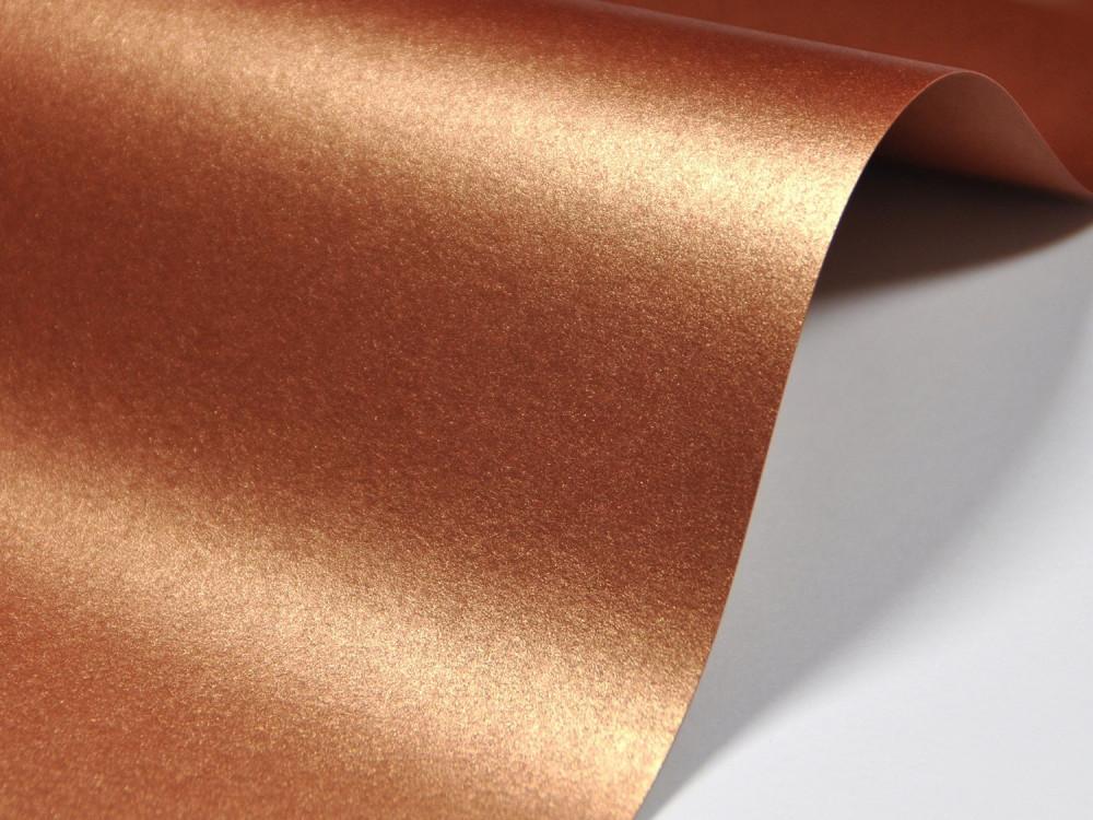 Papier Majestic 120g - Casino Gold, miedziany, A4, 20 ark.