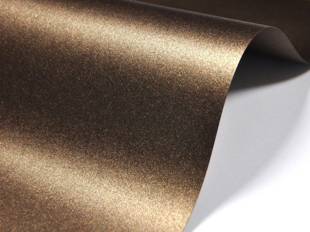 Papier Majestic 250g - Medal Bronze, brązowy, A4, 20 ark.