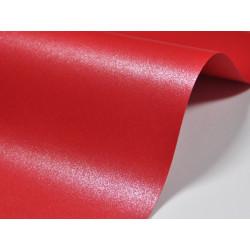 Papier Majestic 250g - Emperor Red, czerwony, A4, 20 ark.