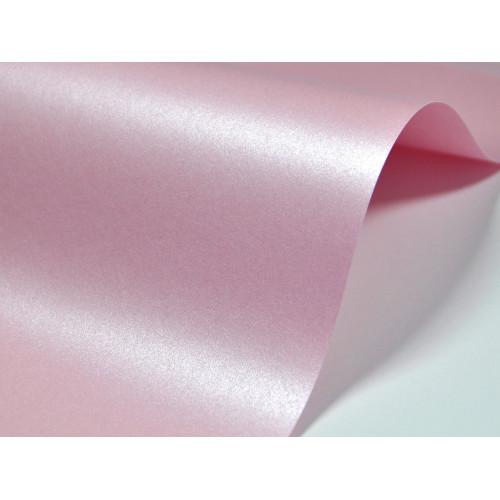 Papier Majestic 250g - Petal, różowy, A4, 20 ark.