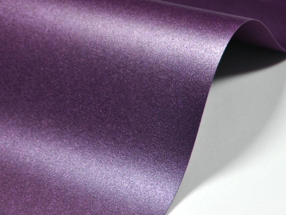 Papier Majestic 290g - Nightclub Purple, fioletowy, A4, 20 ark.