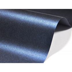 Papier Majestic 120g - Kings Blue, granatowy, A4, 20 ark.