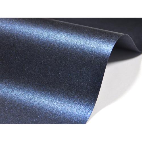 Papier Majestic 250g - Kings Blue, granatowy, A4, 20 ark.