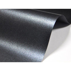 Papier Majestic 120g - Anthracite, grafitowy, A4, 20 ark.