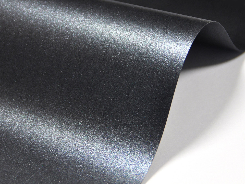 Papier Majestic 250g - Anthracite, grafitowy, A4, 20 ark.