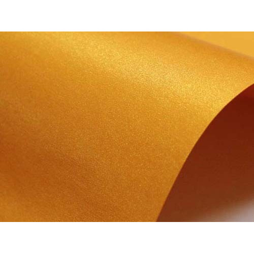 Papier Sirio Pearl 125g A4 Orange Glow 20 ark.