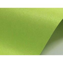 Papier Sirio Pearl 300g - Bitter Green, zielony, A4, 20 ark.