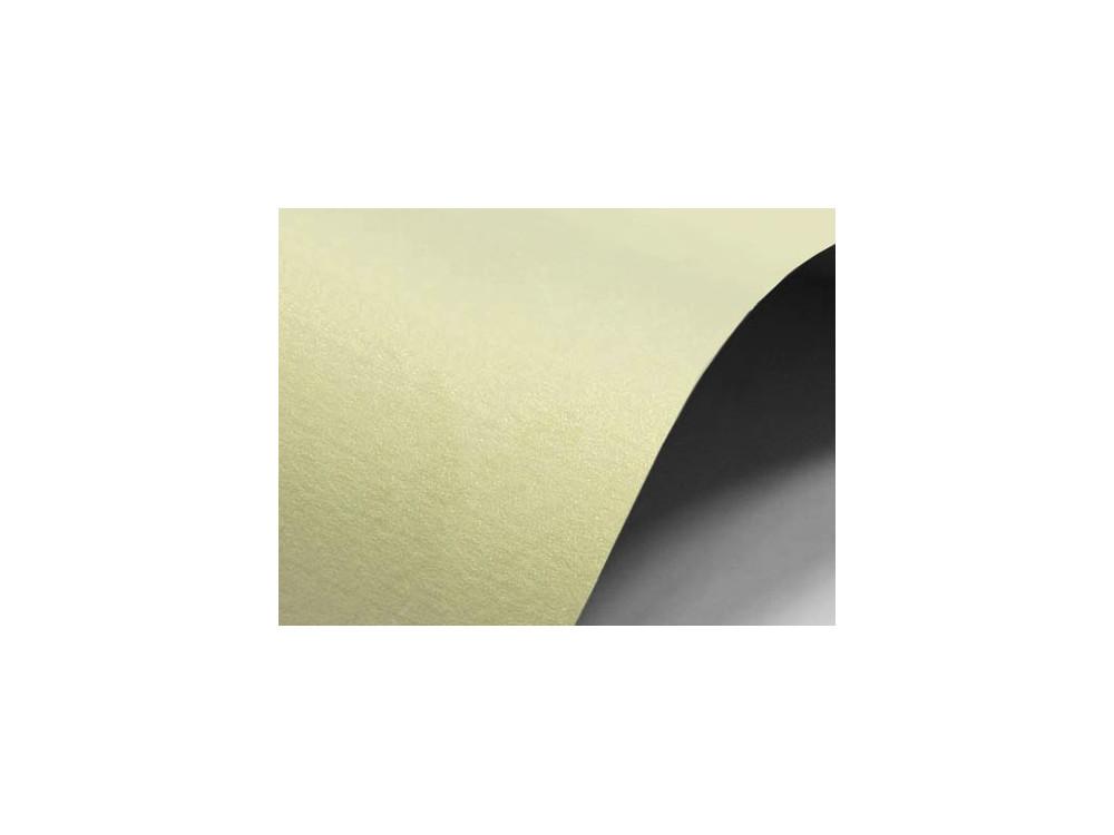 Papier Sirio Merida 220g - Cream, kremowy, A4, 20 ark.