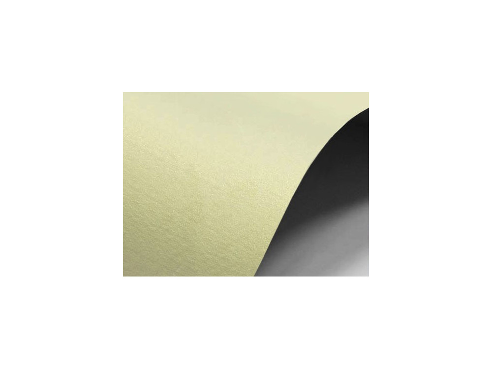 Sirio Pearl Paper Merida 220g - Cream, A4, 20 sheets