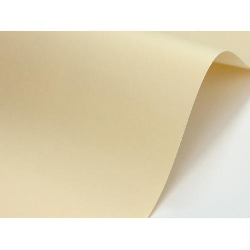 Papier Sirio Color 210g - Paglierino, waniliowy, A4, 20 ark.