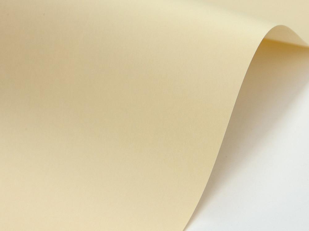 Sirio Color Paper 210g - Paglierino, wanilla, A4, 20 sheets