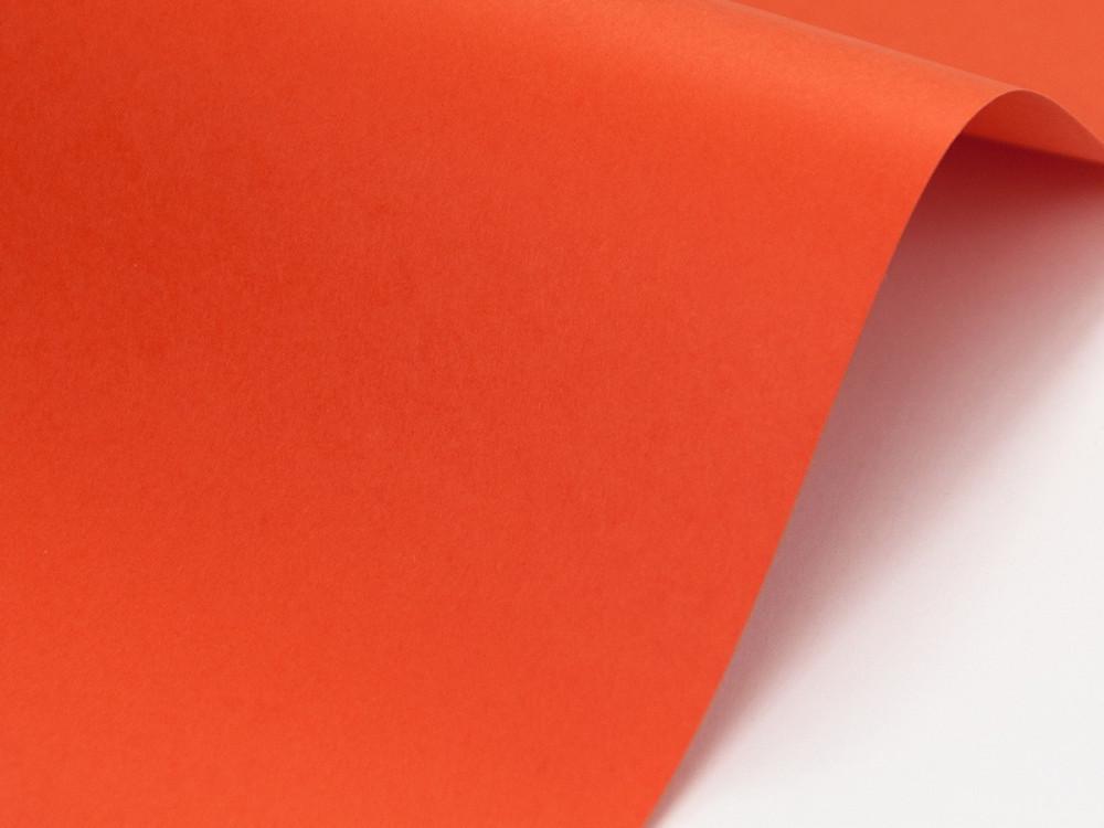Papier Sirio Color 210g - Arancio, pomarańczowy, A4, 20 ark.
