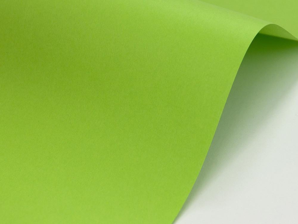 Papier Sirio Color 210g - Lime, zielony, A4, 20 ark.
