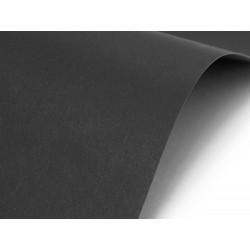Papier Sirio 380g - Black Black, czarny, A4, 20 ark.