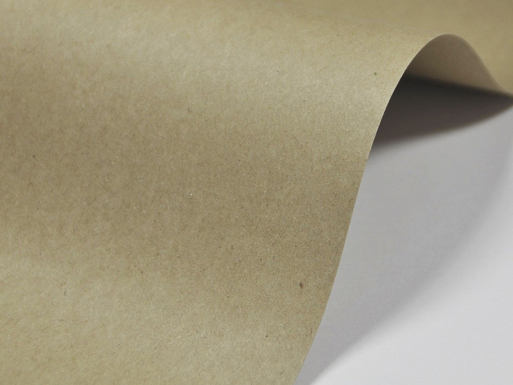 Recycled paper 350g - Schoellershammer - brown, A4, 20 sheets
