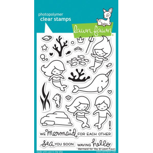 Stempel Lawn Fawn - Mermaid for You