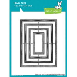 Wykrojnik Lawn Fawn - Large cross - Rectangle