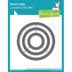 Wykrojnik Lawn Fawn - Small cross - Circle