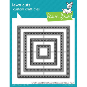Lawn Fawn Dies - Small cross - Square