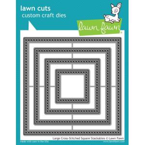 Wykrojnik Lawn Fawn - Large cross - Square
